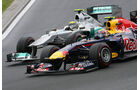 Webber Rosberg - GP Ungarn - Formel 1 - 31.7.2011 - Highlights