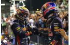 Webber & Vettel - GP Abu Dhabi 2013