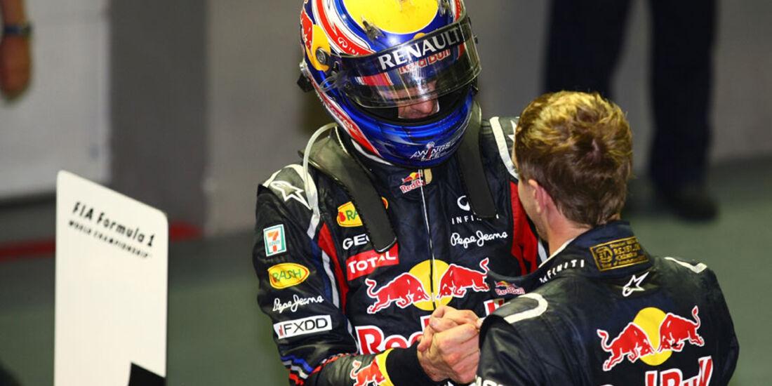 Webber & Vettel GP Singapur 2011