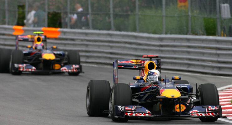 Webber und Vettel