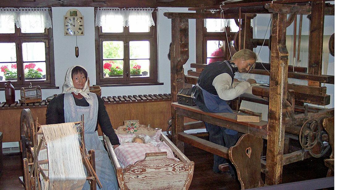 Weberstube im Karl-May-Haus