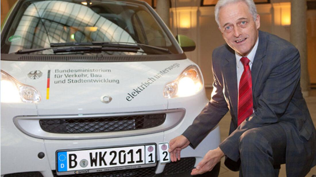 Wechselkennzeichen Verkehrsminister Ramsauer