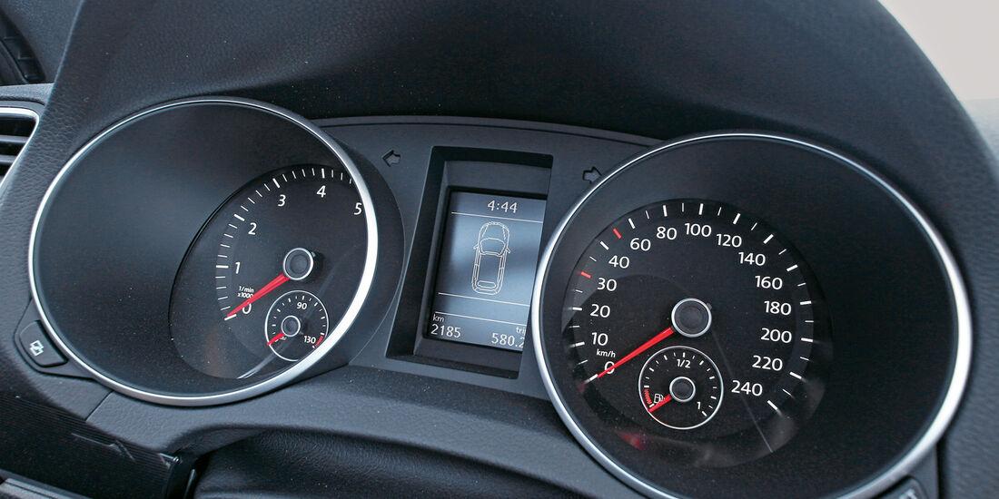 Wendland-VW Golf 1.4 TSI Cabrio, Rundinstrumente