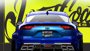 West Coast Custom Kia Stinger GT Sema 2017