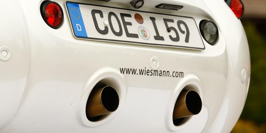Wiesmann Roadster MF4-S, Heck, Heckleuchte