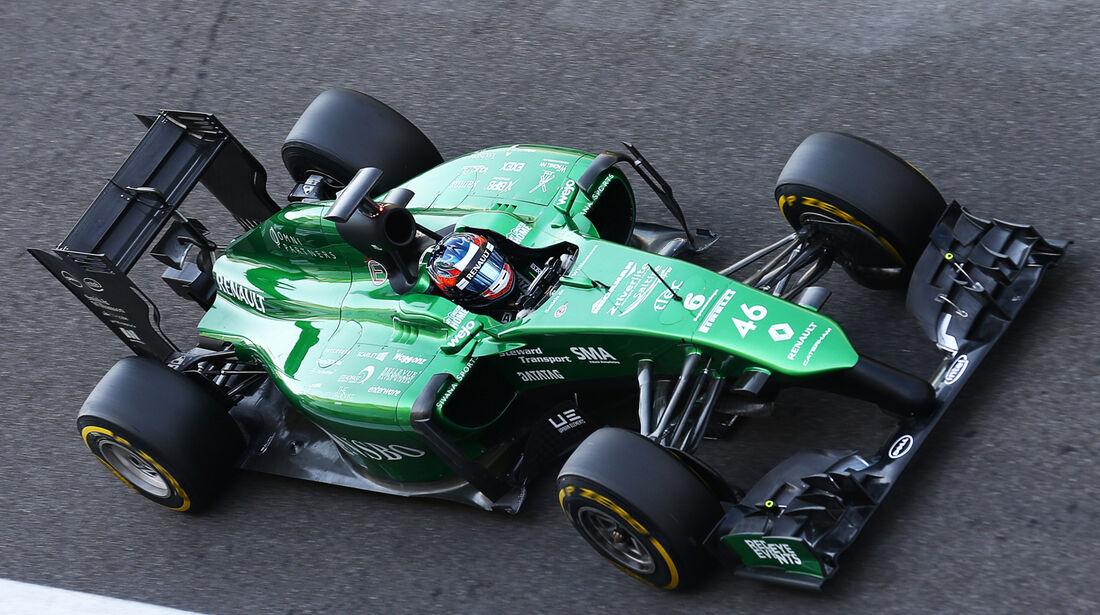 Will Stevens - Caterham - Formel 1 Test - Abu Dhabi - 25. November 2014