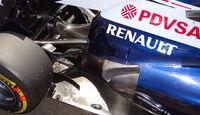Williams - Auspuff - Formel 1 2013
