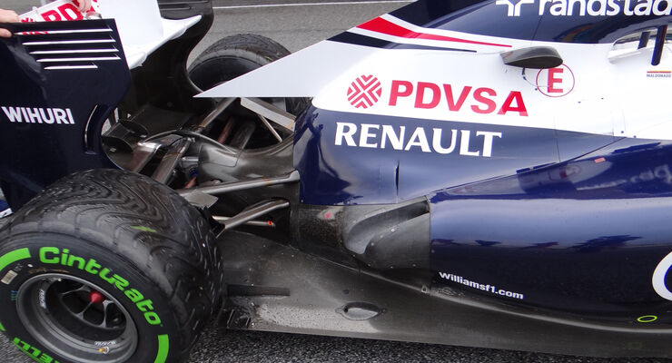 Williams Auspuff GP Malaysia 2013