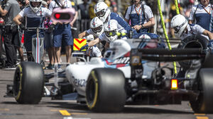 Williams Boxenstopp - F1 - GP Monaco - 2017