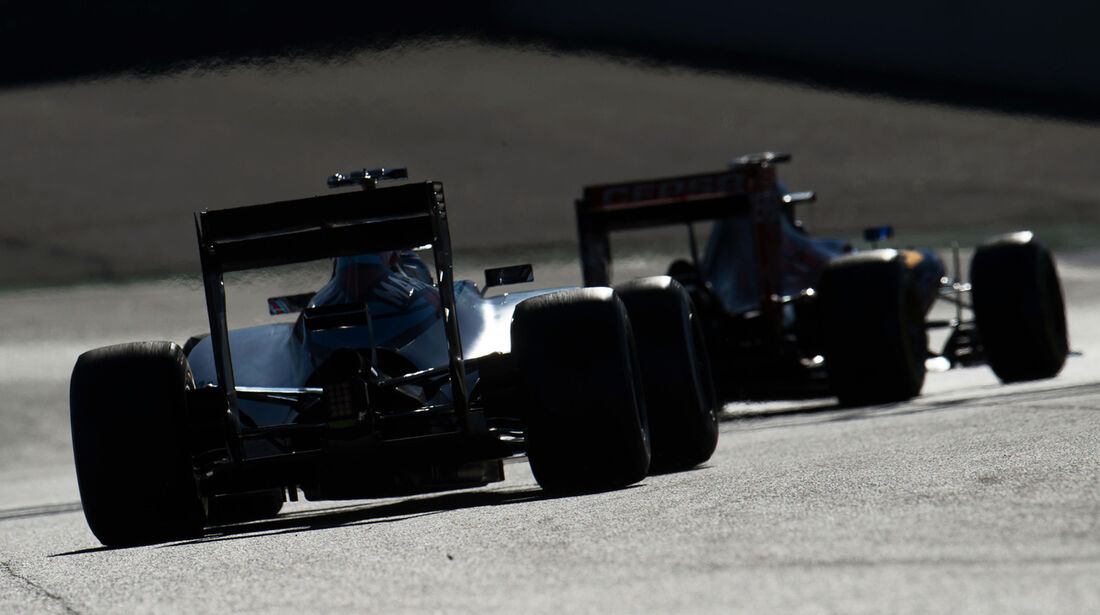 Williams - F1-Test Barcelona - 2015