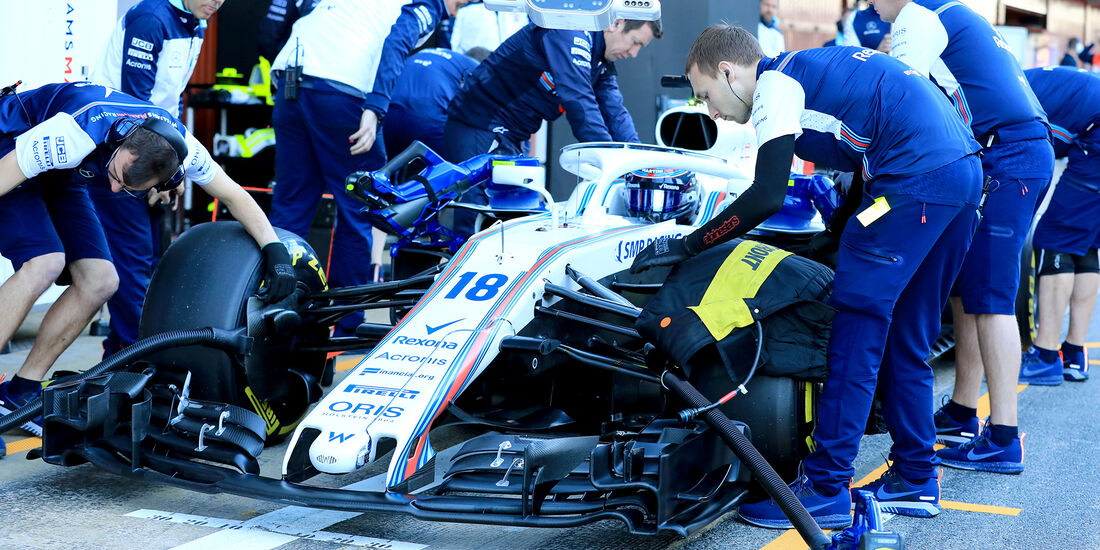 Williams - F1-Test - Barcelona - Tag 5 - 6. März 2018