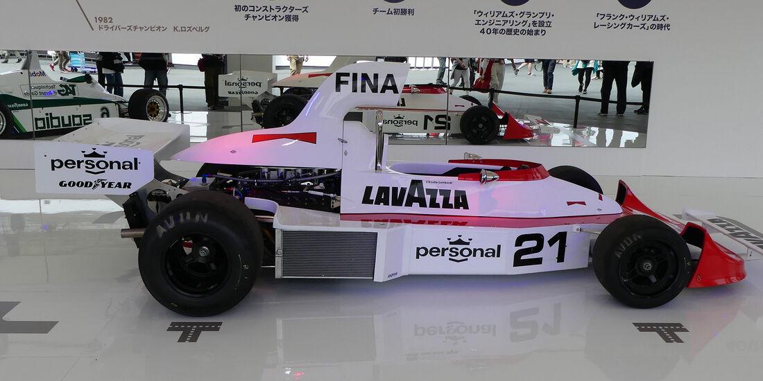 Williams FW04 - Formel 1 - GP Japan - Suzuka - 5. Oktober 2017