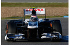 Williams FW34 Nase F1 Jerez 2013