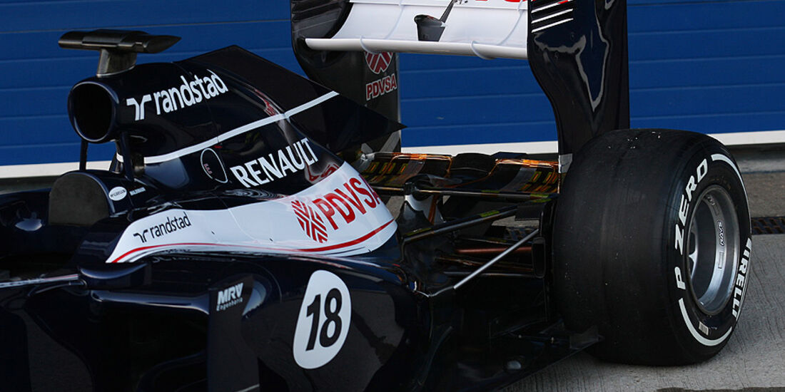 Williams FW34 Präsentation