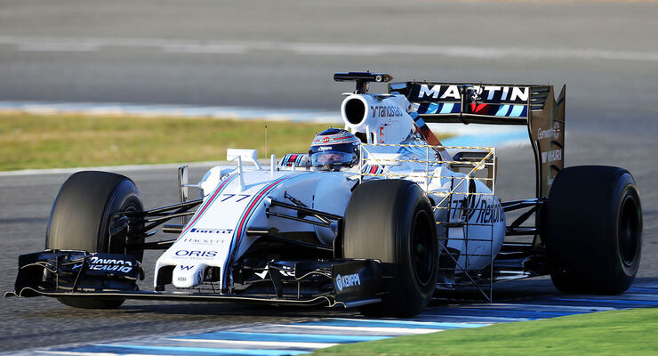Williams FW37 Valtteri Bottas Jerez Testfahrten