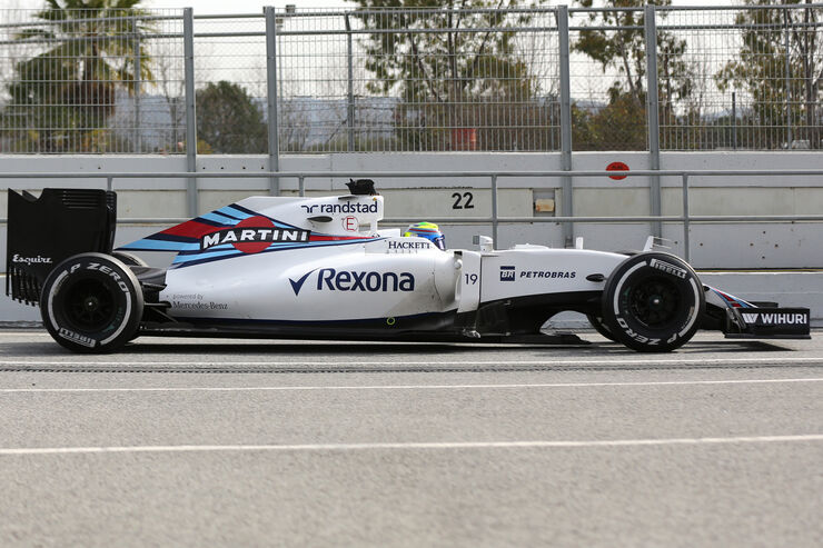 Williams FW38 - F1 2016 - Profil