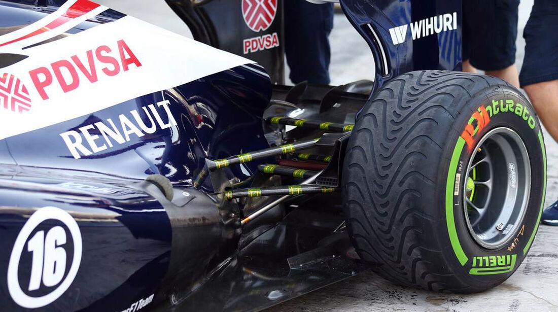 Williams - Formel 1 - GP Abu Dhabi - 01. November 2013