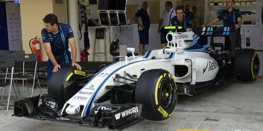 Williams - Formel 1 - GP Abu Dhabi - 24. November 2016