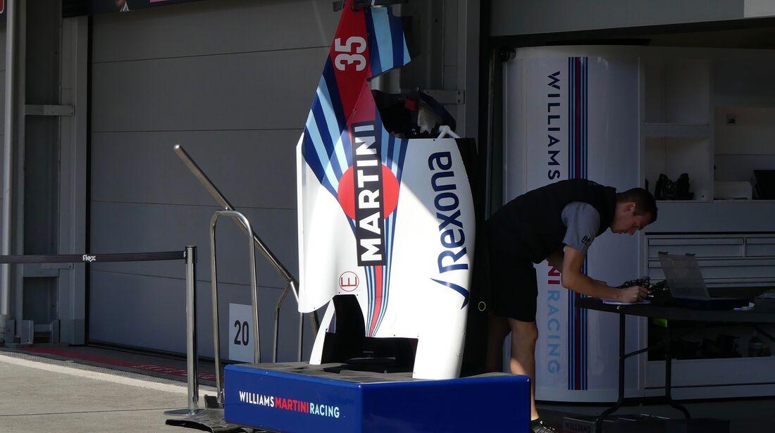 Williams - Formel 1 - GP Aserbaidschan - 26. April 2018