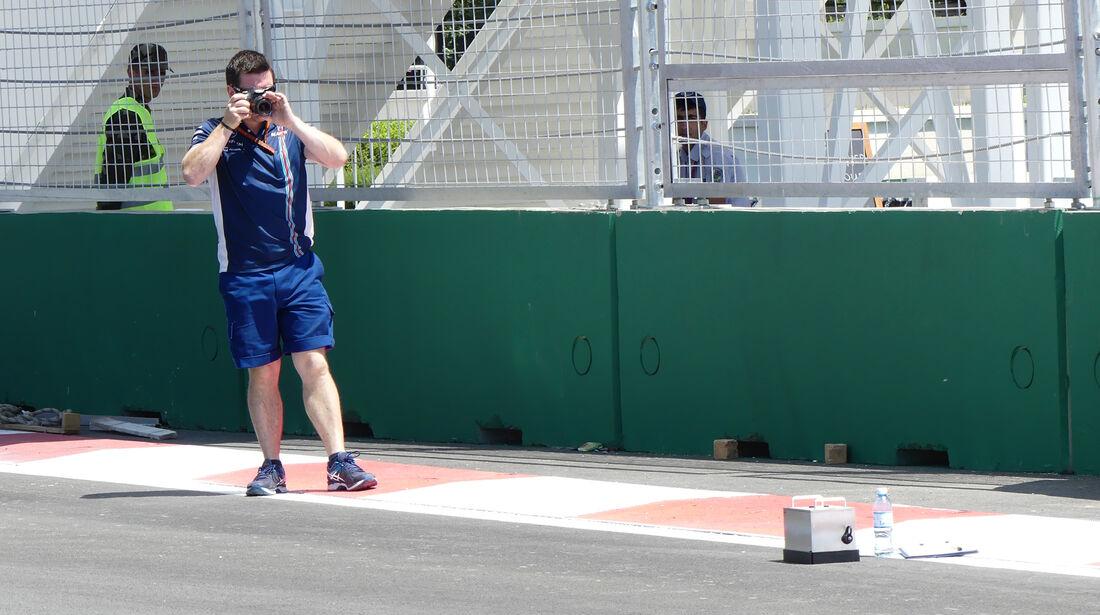 Williams - Formel 1 - GP Aserbaidschan - Baku - 16. Juni 2016