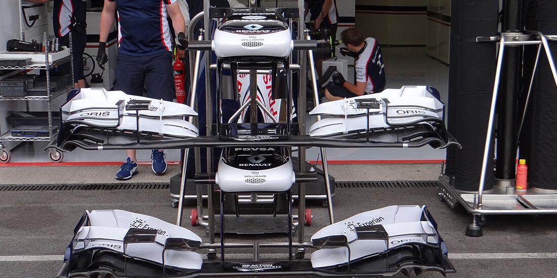 Williams - Formel 1 - GP Belgien - Spa-Francorchamps - 22. August 2013