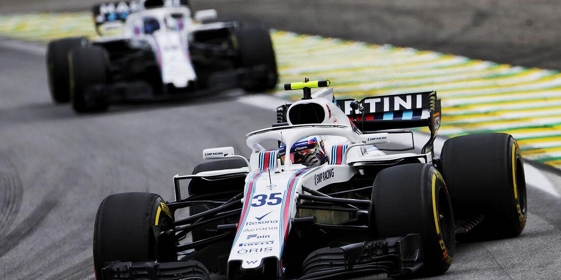 Williams - Formel 1 - GP Brasilien 2018