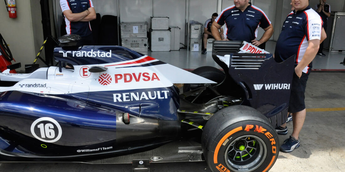 Williams - Formel 1 - GP Brasilien - 21. November 2013