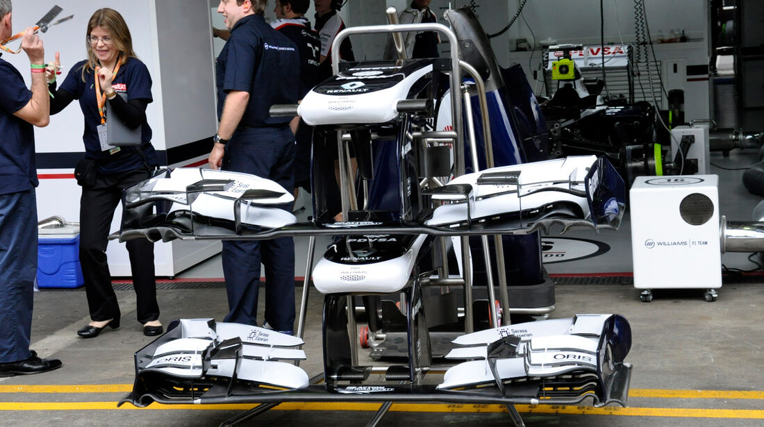 Williams - Formel 1 - GP Brasilien - 22. November 2013