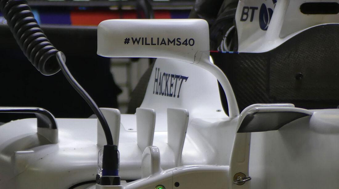 Williams - Formel 1 - GP China 2017 - Shanghai - 7.4.2017