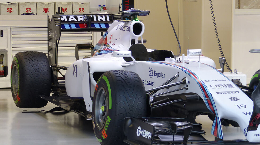 Williams - Formel 1 - GP Singapur - 18. September 2014