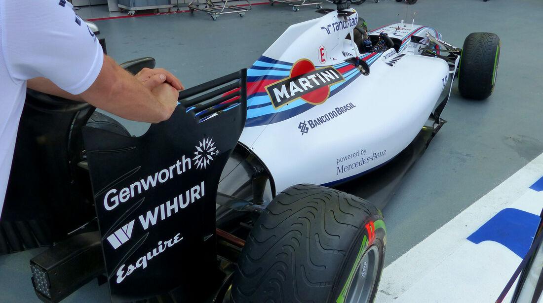 Williams - Formel 1 - GP Singapur - 19. September 2014