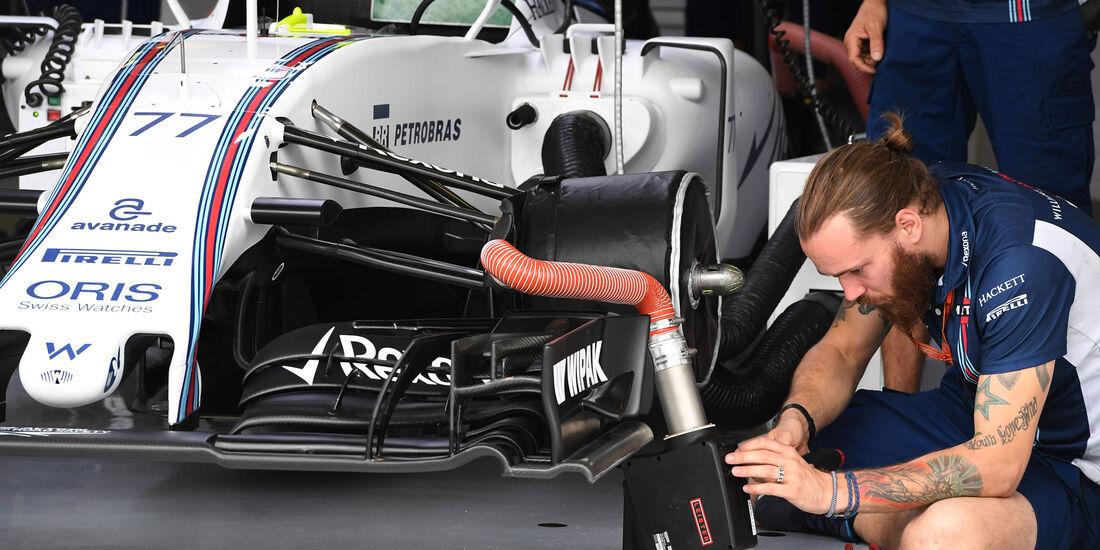Williams - Formel 1 - GP Ungarn - 22. Juli 2016