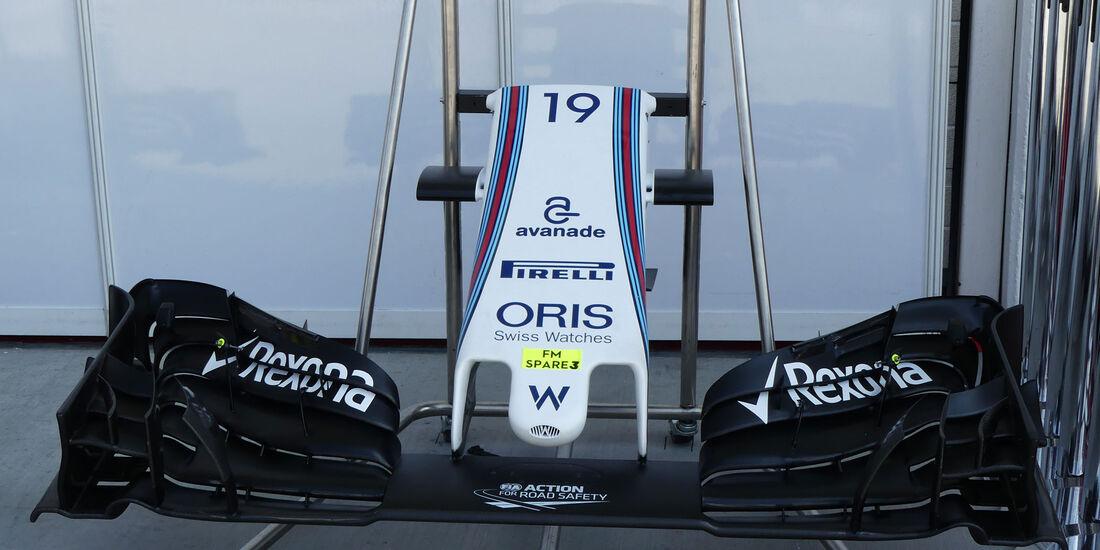 Williams - Formel 1 - GP Ungarn - 23. Juli 2016