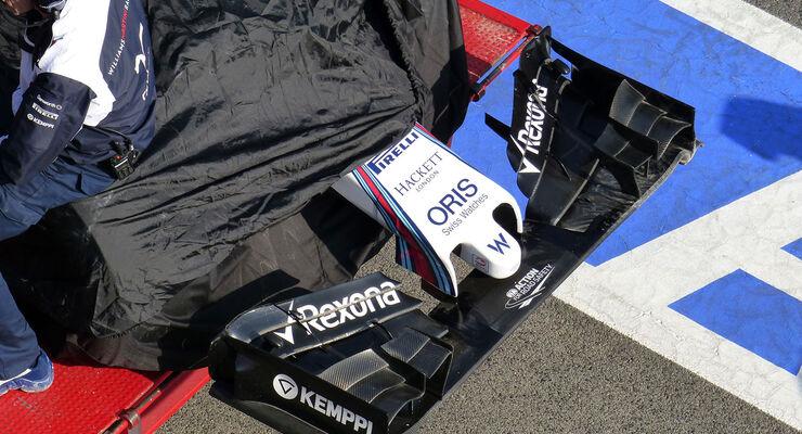 Williams - Formel 1-Test - Barcelona - 19. Februar 2015