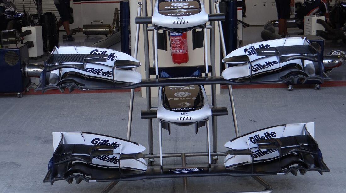 Williams Frontflügel - Formel 1 - GP Abu Dhabi - 01. November 2012