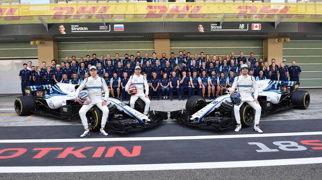 Williams - GP Abu Dhabi 2018