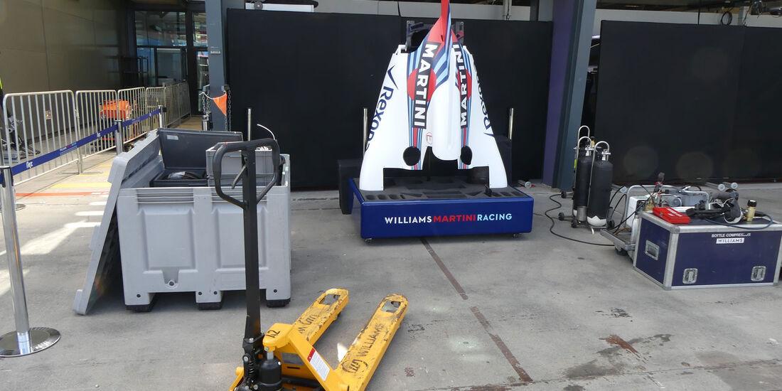 Williams - GP Australien 2018 - Melbourne - Albert Park - Mittwoch - 21.3.2018