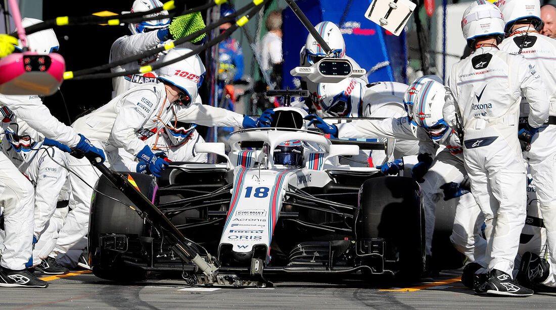Williams - GP Australien 2018
