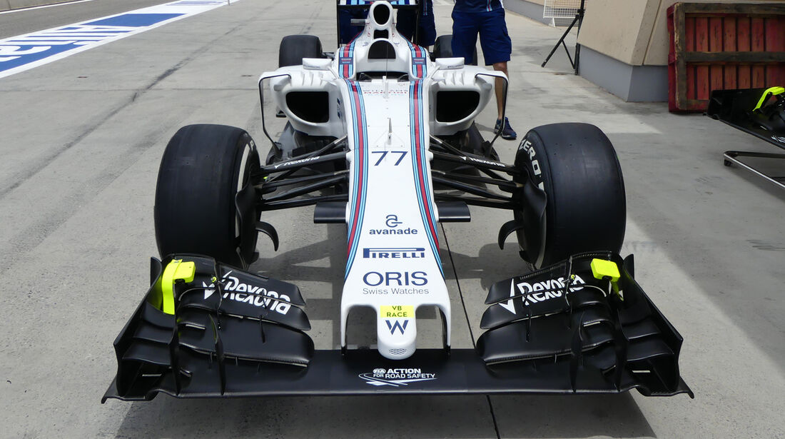 Williams - GP Bahrain - Formel 1 - 1. April 2016