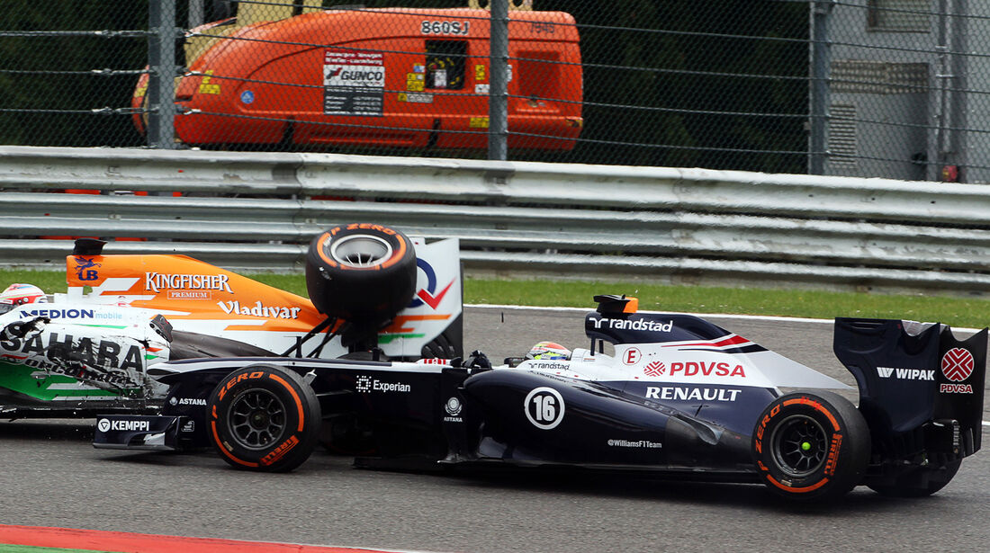 Williams - GP Belgien 2013