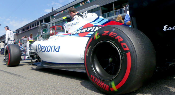 Williams - GP Belgien 2016