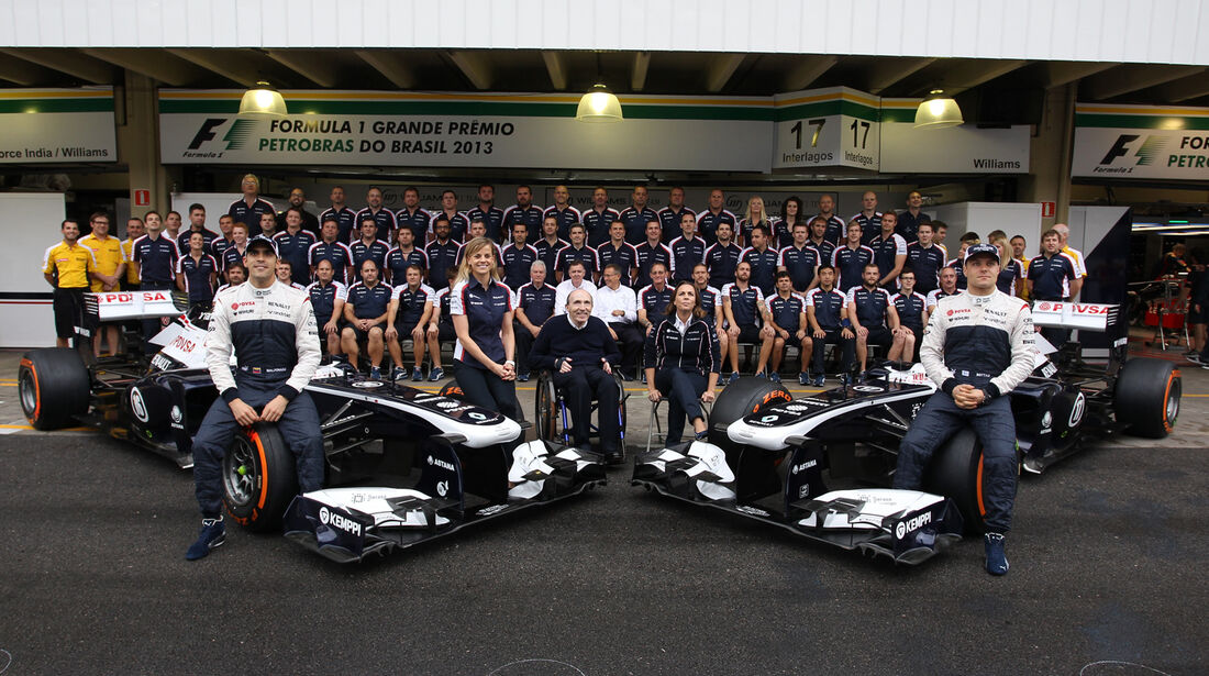 Williams - GP Brasilien - 23. November 2013