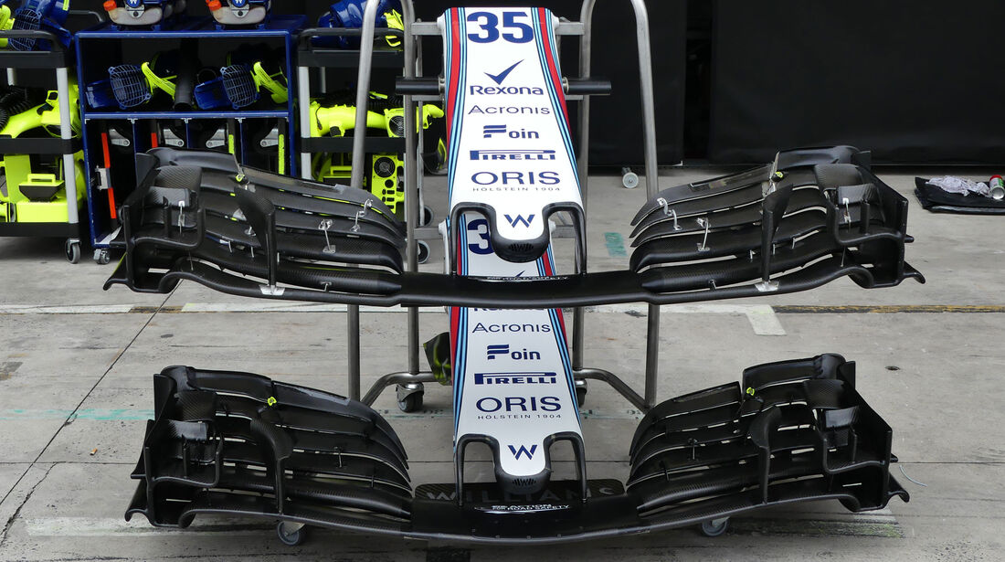 Williams - GP Brasilien - Interlagos - Formel 1 - Mittwoch - 7.11.2018