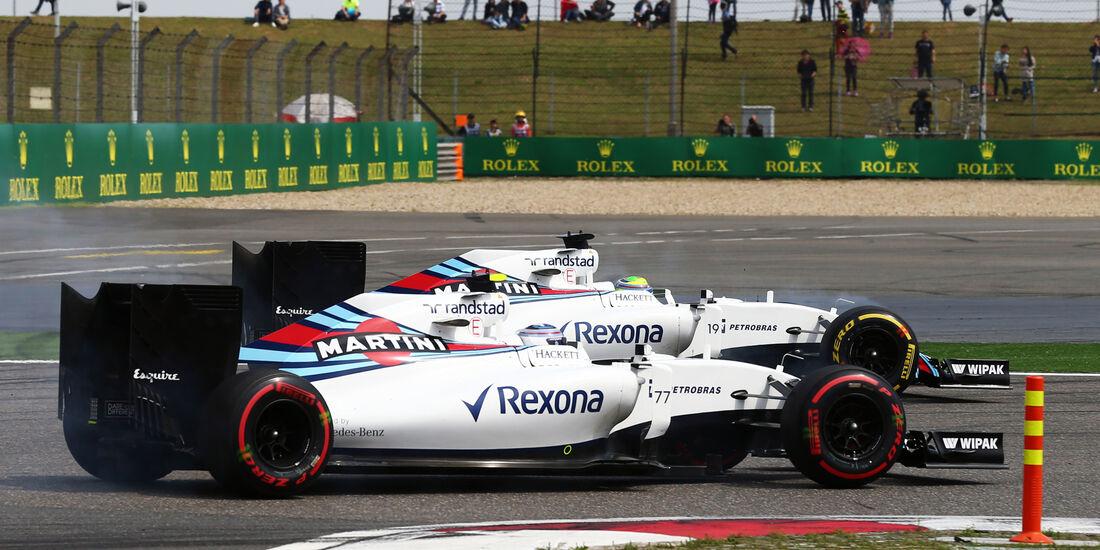 Williams - GP China 2016