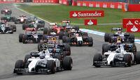 Williams - GP Deutschland 2014