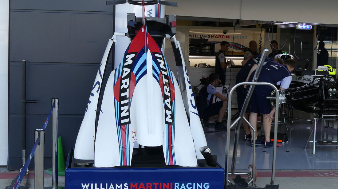 Williams - GP England - Silverstone - Formel 1 - Donnerstag - 5.7.2018