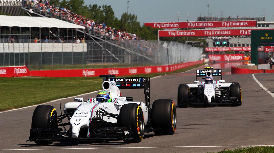 Williams - GP Kanada 2014