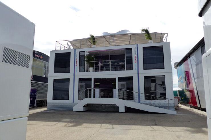 Williams - Motorhomes - GP England 2014