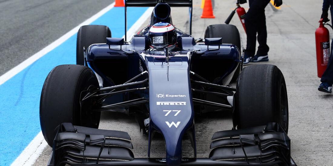 Williams - Nase - Formel 1 - Jerez-Test - 2014