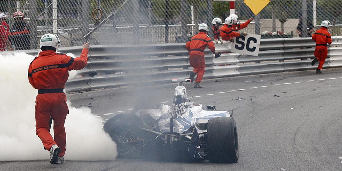 Williams, Rubens Barrichello, GP Monaco